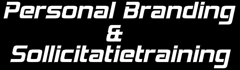 Personal Branding & Sollicitatietraining